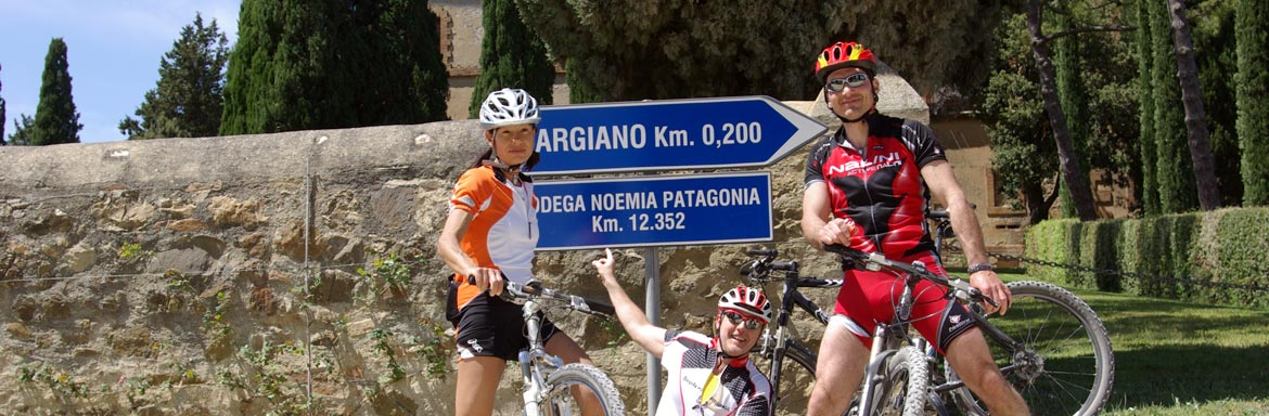 Vignoni in Mountain Bike
